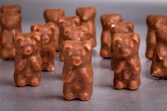в форме Конфет шоколад стоковые изображения