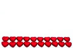в форме Сердц шоколад на день валентинок Стоковые Изображения
