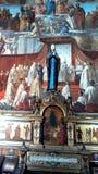 В центре диаграммы матери католиков собора бога верных Стоковая Фотография