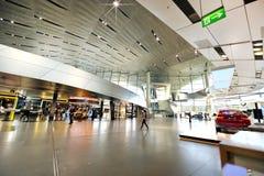 В центре экспо BMW Стоковая Фотография RF