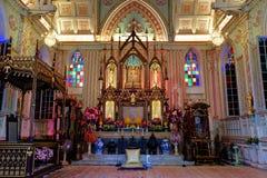 В церков Христос красивый стоковые фото