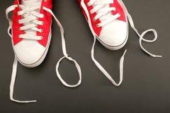 Влюбленность ботинка Стоковое фото RF