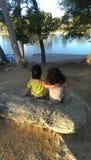 Влюбленность брата и сестры Стоковая Фотография