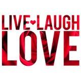 влюбленность в реальном маштабе времени смеха Стоковые Фото