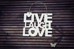 влюбленность в реальном маштабе времени смеха Стоковые Изображения RF