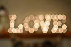 Влюбленность в светах Стоковые Фото