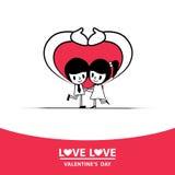 Влюбленность влюбленности Стоковая Фотография RF