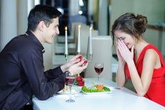 Влюбленность. День валентинок Стоковые Изображения