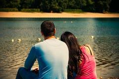 Влюбленность лета Стоковые Изображения