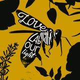 Влюбленность делает трудовой свет Стоковое Изображение