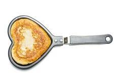 Влюбленность еды изолированная на белизне стоковые фотографии rf