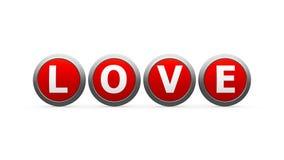 Влюбленность значков Стоковое Изображение
