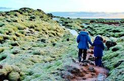 Влюбленность Исландия Стоковое Изображение RF