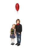 Влюбленность и дети Стоковое фото RF