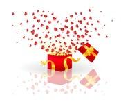 влюбленность коробки Стоковая Фотография RF