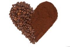 Влюбленность кофе. Стоковые Фото