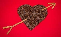 Влюбленность кофе Стоковая Фотография RF