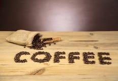 влюбленность кофе i Стоковое Изображение RF