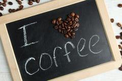 влюбленность кофе i Стоковое фото RF