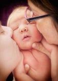 Влюбленность матери стоковое фото rf