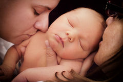 Влюбленность матери Стоковое Изображение RF