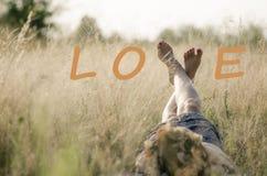 Влюбленность можно выразить в много путей Стоковые Изображения RF