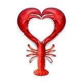 Влюбленность морепродуктов бесплатная иллюстрация