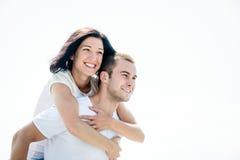 Влюбленность - молодая пара стоковые фото