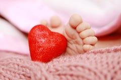 Влюбленность 2 младенца Стоковое фото RF