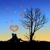 Влюбленность осени Стоковое Изображение RF