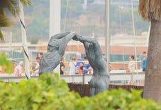 Влюбленность памятника Стоковая Фотография