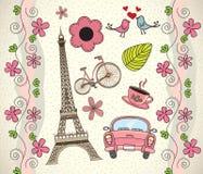 Влюбленность Париж Стоковые Изображения RF