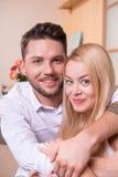 влюбленность пар счастливая Стоковые Фото