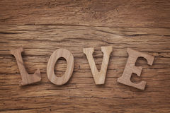 Влюбленность писем Стоковые Изображения