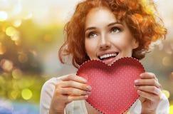 влюбленность письма сердца габарита Стоковые Фотографии RF
