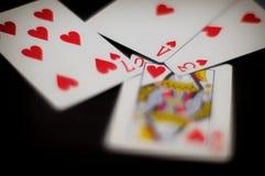 Влюбленность покера Стоковая Фотография RF