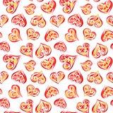 влюбленность предпосылки безшовная Стоковые Фотографии RF