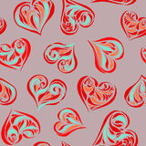 влюбленность предпосылки безшовная Стоковое Фото