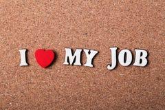 влюбленность работы i моя Стоковое Изображение RF