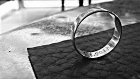 Влюбленность свадьбы кольца Стоковое Изображение RF