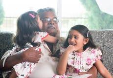 Влюбленность семьи Стоковые Фотографии RF