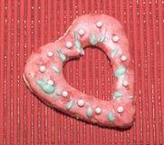 Влюбленность сердец печений Стоковое Фото