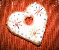 Влюбленность сердец печений Стоковые Изображения RF