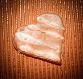 Влюбленность сердец печений Стоковое Изображение RF