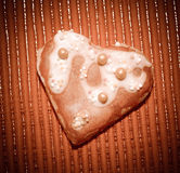 Влюбленность сердец печений Стоковые Фото