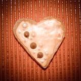 Влюбленность сердец печений Стоковое фото RF