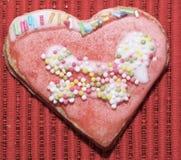 Влюбленность сердец печений Стоковые Фотографии RF