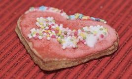 Влюбленность сердец печений Стоковая Фотография RF
