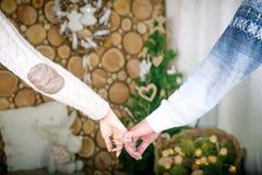 влюбленность совместно Стоковое Фото