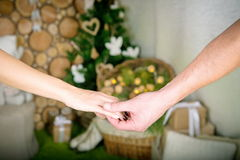 влюбленность совместно Стоковая Фотография RF